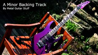 A Minor - Metal Guitar Backing Track