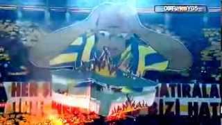 Fener Ağlama & Şereftir Seni Sevmek ! Koreografi Eşliğinde ( Galatasaray 2-1 Fenerbahçe )