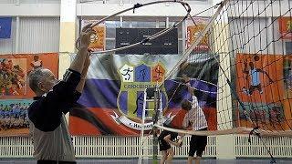 Детский волейбол. Обучение. Упражнение на точность приема