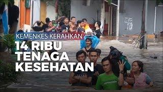 Kementerian Kesehatan Kerahkan 14 Ribu Tenaga Kesehatan untuk Korban Banjir