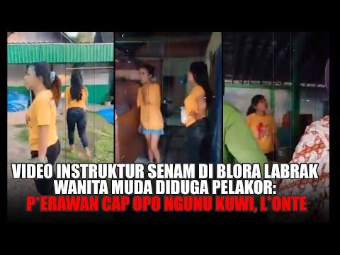 Video Instruktur Senam di Blora Labrak Wanita Muda Diduga Pelakor: Perawan Cap Opo Ngunu Kuwi, Lonte