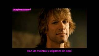 JON BON JOVI,Destination Anywhere,subtitulada,