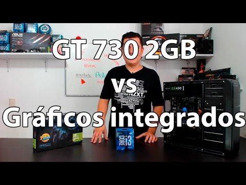 ¿Vale la pena una tarjeta de video de entrada? GT 730 vs Graficos integrados intel 530 core i3