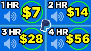Earn $100 A Day LISTENING TO SOUNDS Free! (PayPal Deposits) Make Money Online