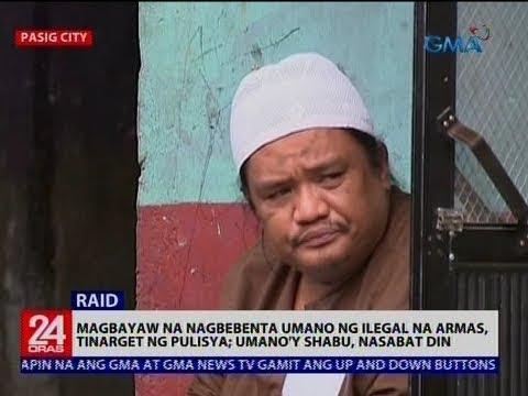 [GMA]  Magbayaw na nagbebenta umano ng ilegal na armas, tinarget ng pulisya; Umano'y shabu, nasabat din