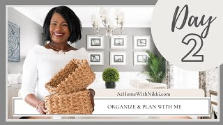Organize & Plan With Me |  Home Management Series 2 Of 8
