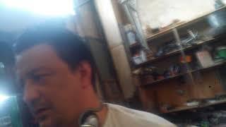 Гараж сделал видеонаблюдение камера, монитор ,регистратор, блок питания на 12 воль