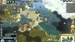 preview picture of video 'Let's play Civ 5 (Gods&Kings) - Harder Siamese Twins - Part 11'