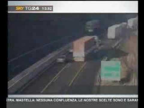 Wypadki na włoskich autostradaqch