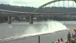 preview picture of video 'Wheeling Vintage Hydroplane Racing...Wheeling,West Virginia September 1,2012'