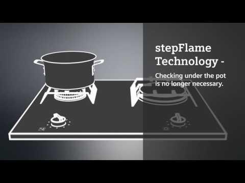 Siemens Gas Hob ER9A6SD70 - Black Video 2