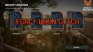 State of Decay 2 | How to DUPLICATE Items & Rucksacks Glitch - Most