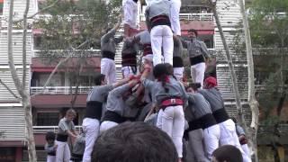 preview picture of video 'Diada 2012 Castellers de Sants'