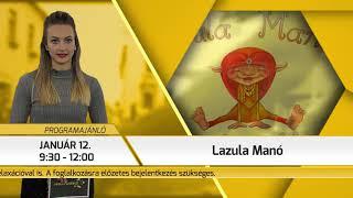 Programajánló / TV Szentendre / 2019.01.10.