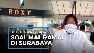 Pendapat Risma Soal Viral Mall di Surabaya Dipenuhi saat Lebaran, Ia Coba Memaklumi