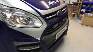 Ford Transit Custom, Audio, Video And Lighting Upgrade.