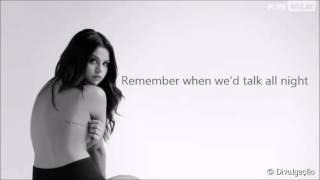 Selena Gomez Camouflage Lyrics