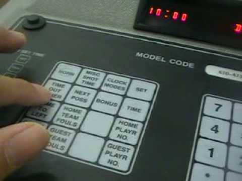 Score clocks manual.
