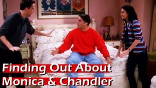 FRIENDS Tv Show - Finding Out About Monica & Chandler HD