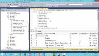 SQL Server Management Studio Intro