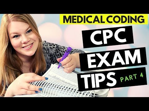 CPC EXAM PREP - PART 4 - MEDICAL CODING TIPS FOR ...