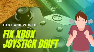 Xbox One Controller Joystick Drift Fix (EASY AND WORKS!)