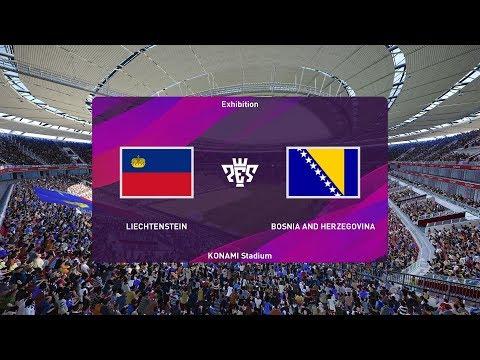 Liechtenstein vs Bosnia & Herzegovina - EURO 2020 Qualification | 18 November 2019 | Gameplay HD