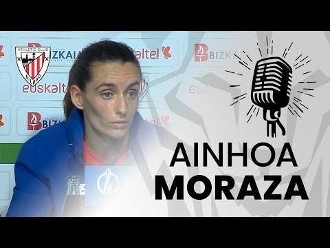 🎙️ Ainhoa Moraza I post Athletic Club 2-1 Real Sociedad I J20 Primera Iberdrola