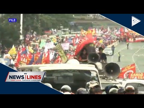 Rally leaders assure peaceful SONA mass actions