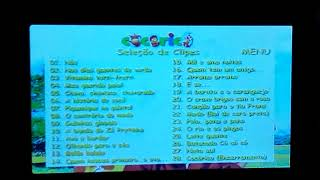 Cocoricó: 28 Clipes Musicais 2004 DVD Menu Walkthrough