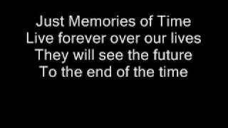 Memories Of Time - Dreamtale , With lyrics