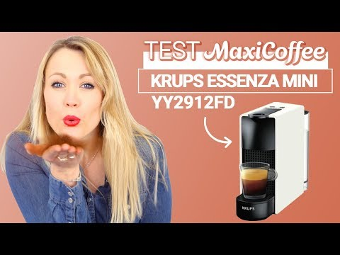NESPRESSO ESSENZA MINI YY2912FD  | Machine à capsule Krups | Le Test MaxiCoffee
