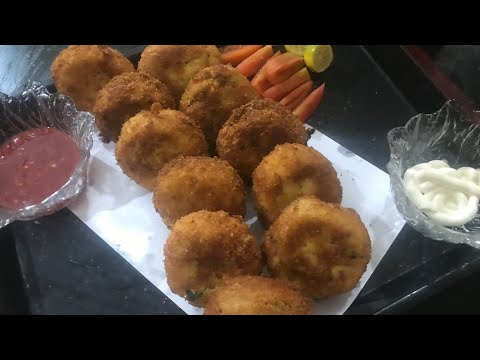 Bread chicken patties recipe/Easy recipes/cook with humii