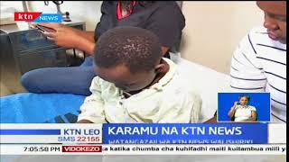 Wanahabari wa KTN News watembelea wagonjwa hospitalini