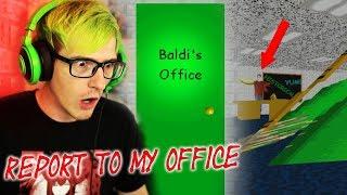BALDI SENT US TO HIS OFFICE?! | Baldis Basics In Education And Learning (Alternate Ending Secret)