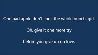The Osmonds   One Bad Apple Lyrics