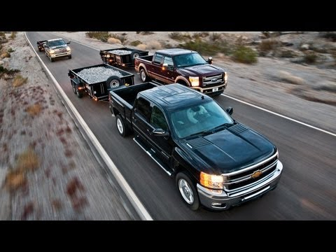 2012 Chevy Silverado 2500 vs Ford F-250 Super Duty vs Ram 2500