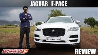 Jaguar F-Pace Review | Hindi | Motoroctane
