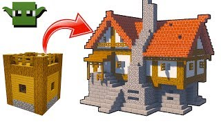 Minecraft Medieval Row House Building W Bdoubleo 423 Minecraftvideos Tv