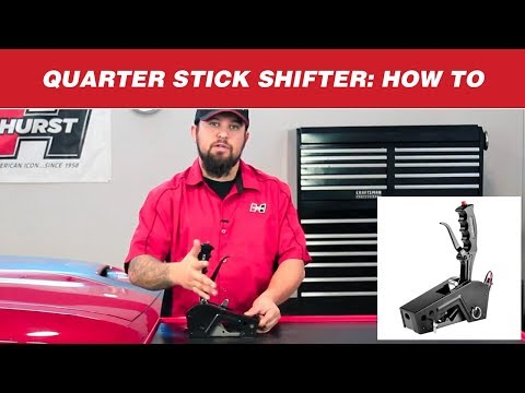 How to Shift a Hurst Quarter Stick Shifter
