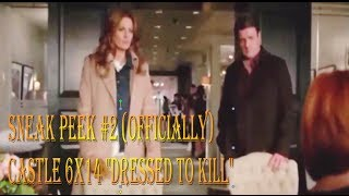 "Castle 6x14 ""Dressed To Kill"" Sneak Peek #2 (Officially SP) Castle & Beckett with Matilda"