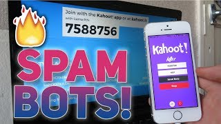 How To HACK Kahoot! Spam Bot * NOT CLICK BAIT * Working 2018