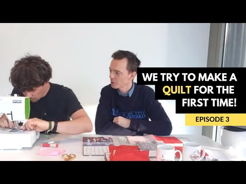 Mark And Richard's Quilt For Mom - Episode 3
