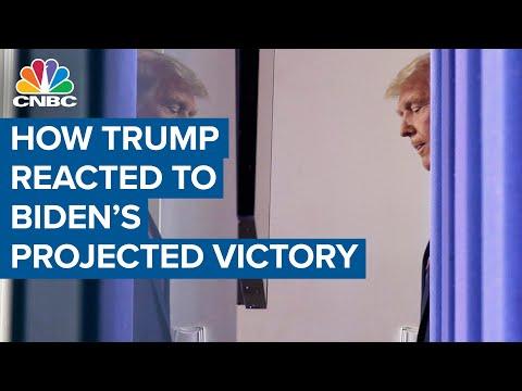 डोनाल्ड ट्रम्प, व्हाइट हाउस ने जो बिडेन की चुनावी जीत पर प्रतिक्रिया व्यक्त की