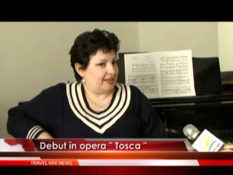 """Debut în opera """"Tosca"""""""