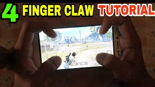 4 FINGER CLAW TUTORIAL (EXPLAINED) • PUBG MOBILE CLAW TUTORIAL