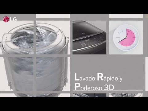 Lavadoras LG de Carga Superior con TurboWash3D™ - Lavado rápido y poderoso