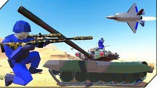 НОВЫЙ ТАНК Т-90, НОВЫЙ САМОЛЕТ F-35 - Игра Ravenfield