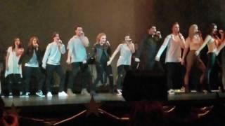 Swing Choir - Michael Jackson Medley & Hello Texas to end the show