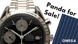 Omega Speedmaster Panda for Sale – but NOT on Chrono24